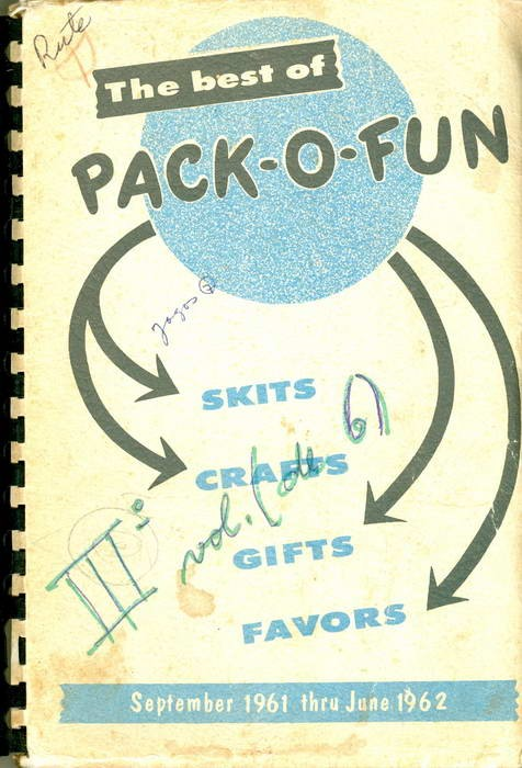 The Best Of Pack-O-Fun - The Only Scrap-Craft Magazine - September 1961 - June 1962