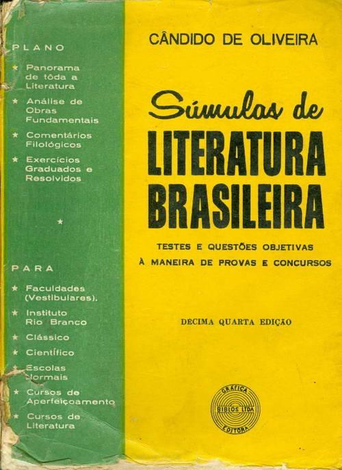 Súmulas de Literatura Brasileira