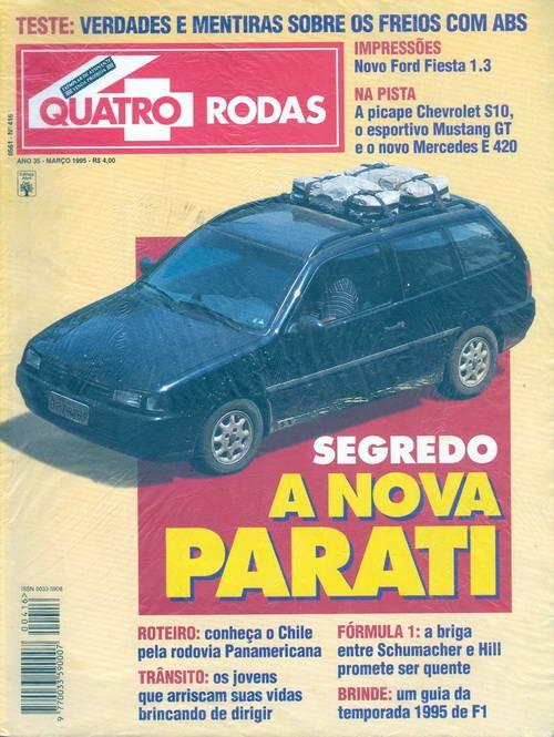 Quatro Rodas - Edição 416 - Março 1995
