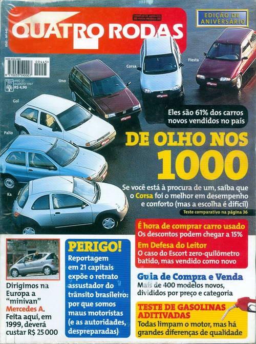 Quatro Rodas - Edição 445 - Agosto 1997