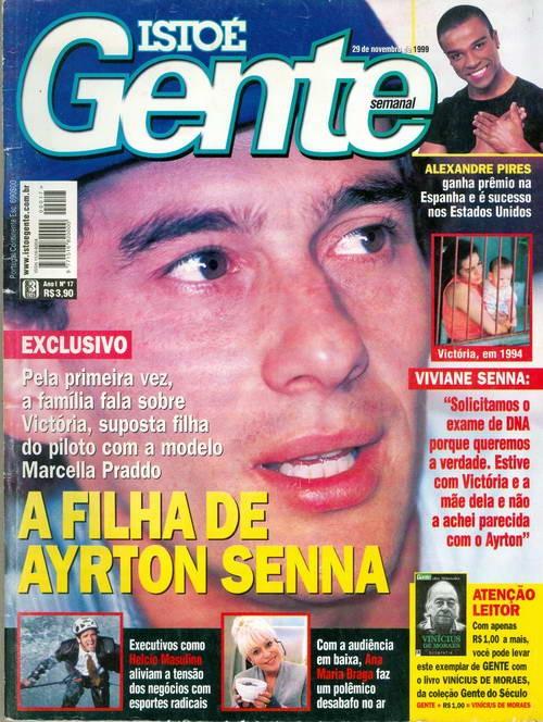 Isto É - Gente - Semanal - A Filha de Ayrton Senna