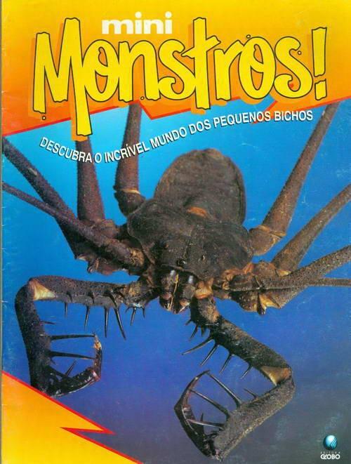 Mini Monstros! Escorpião-vinagre-sem-cauda