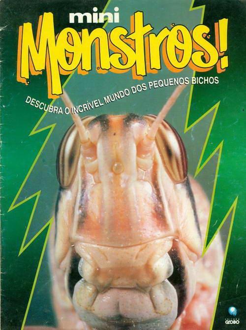 Mini Monstros! Gafanhoto