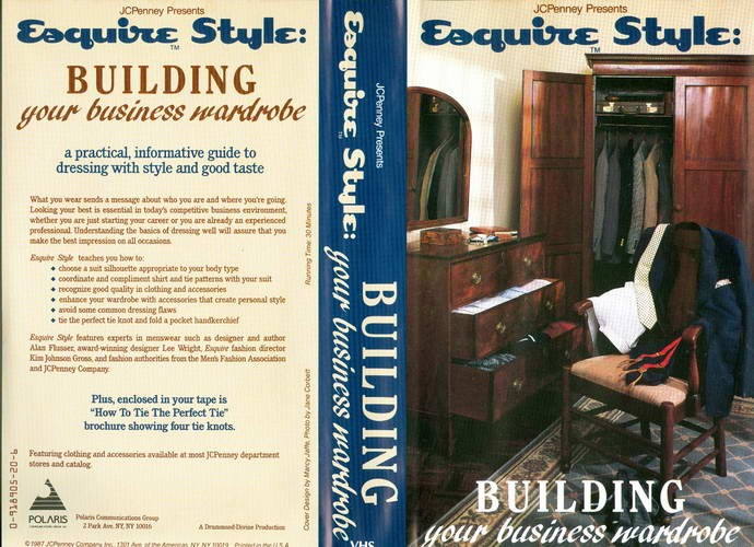 Esquire Style: Building Your Business Wardrobe