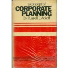 A Concept of Corporate Planning