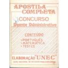 Apostila Completa - Concurso - Agente Administrativo