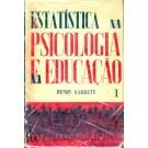 Estatística na Psicologia e na Educação - Volume 1