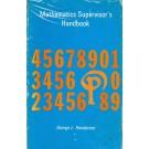 Mathematics Supervisor's Handbook