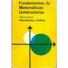 Fundamentos de Matemáticas Universitárias