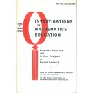 Investigations in Mathematics Education - Volume 7 - N° 3