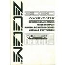 3030 Zoom Player - Manual de Instrucciones