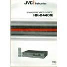 Gravador de Vídeo-Cassete - JVC - HR-D440M